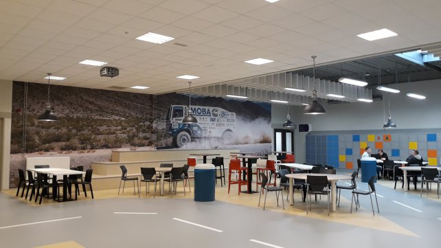 Nieuwe kantine Automotive College