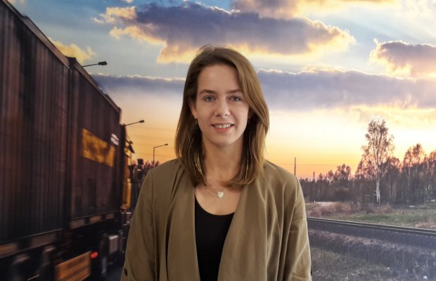 Suzanne Klever, studente Transport en Logistiek