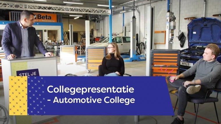 YouTube video - Automotive College | Nieuwegein