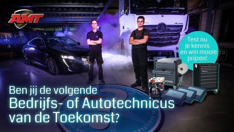YouTube video - Ben jij Bedrijfs- of Autotechnicus van de Toekomst 2021? Doe nu de kennistest!